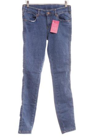 Dr. Denim Skinny Jeans stahlblau-bronzefarben Casual-Look