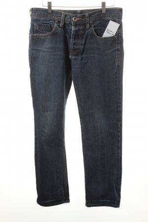 Dr Denim Slim Jeans dunkelblau Casual-Look