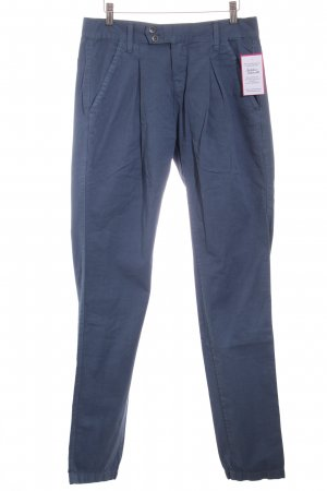 Dr. Denim Stoffhose dunkelblau Casual-Look