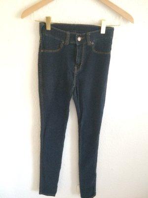 Dr. Denim Jeans a vita alta blu scuro