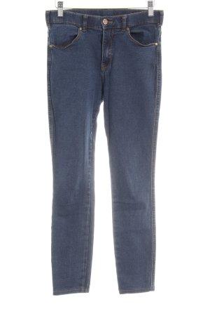 Dr. Denim Stretch Jeans dunkelblau schlichter Stil