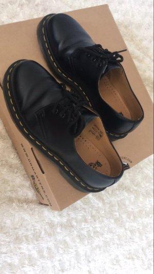 Dr. Martens Zapatos estilo Oxford negro Cuero