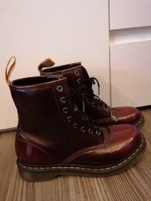 Dr. Martens Aanrijg laarzen rood