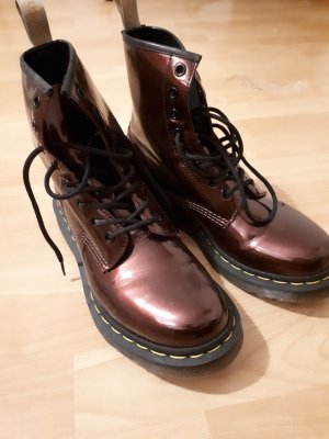 Dr. Martens Stivale Chelsea rosso
