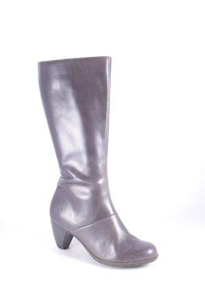 Dr Martens Absatz Stiefel grau minimalistischer Stil