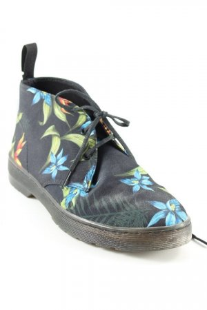 Dr. Martens Ankle Boots florales Muster Safari-Look