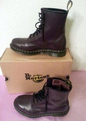 Dr Martens Boots 1460W Purple Damen Stiefeletten Viola violett Gr 40 40,5