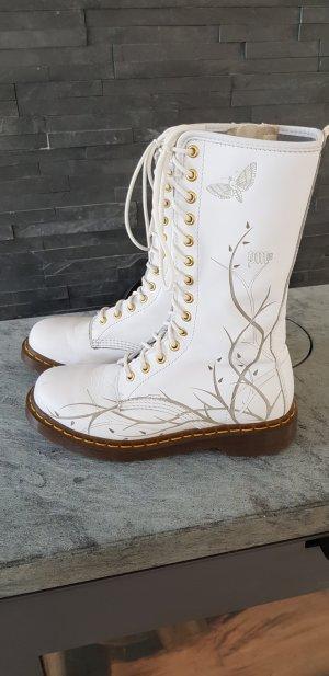 Dr. Martens Combat Boots white