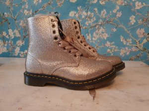 Dr. Martens Combat Boots gold-colored