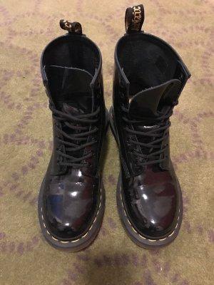 Dr. Martens Boots - schwarz Lack