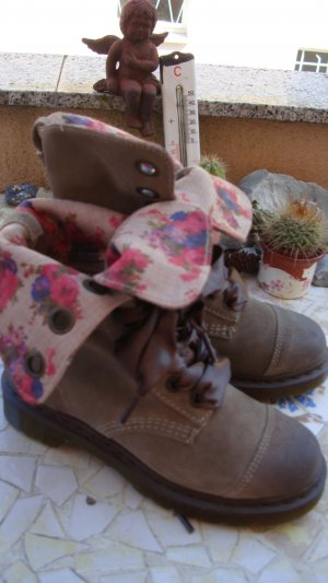 DR MARTENS BOOTS STIEFEL COUNTRY COWBOY WESTERN 36/37 NP189€ NEU! NUDE CAMEL BEIGE SAND