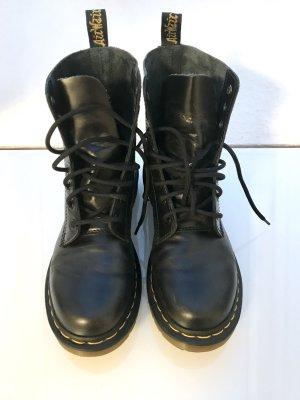 Dr Martens Boots Stiefel Stiefeletten Pascal Leder 39 schwarz