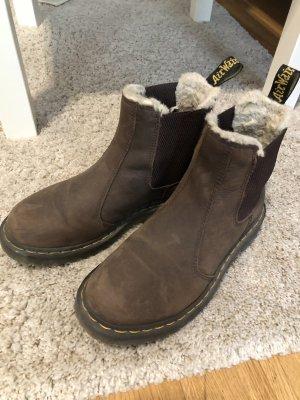 Dr. Martens Slip-on laarzen bruin