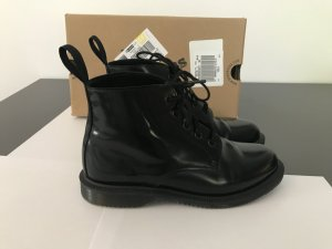 Dr. Martens Lace-up Booties black leather