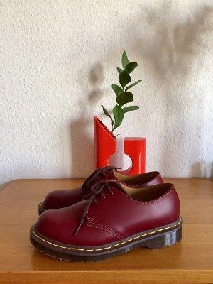 Dr Martens Made in England 3 Ösen 1461 Leder Schuh