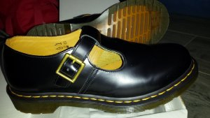 Dr. Martens Scarpa Mary Jane nero Pelle
