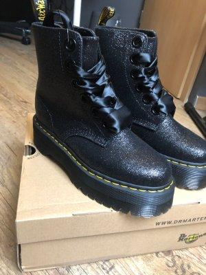 Dr Martens Molly Glitter Flatform Boots