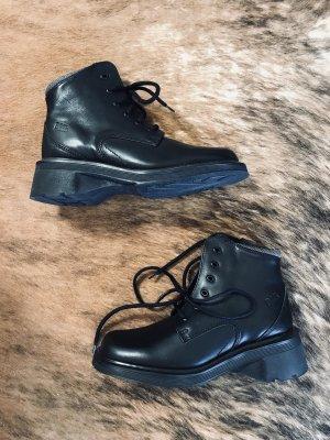Dr. Martens Lace-up Boots black-grey