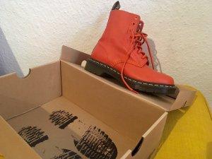 Dr. Martens Combat Boots orange