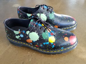 Dr. Martens Lace Shoes multicolored