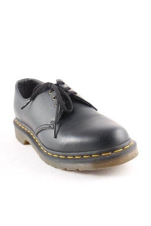 Dr. Martens Schnürschuhe schwarz klassischer Stil