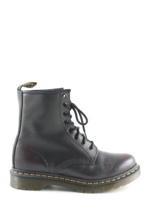 Dr. Martens Aanrijg laarzen bordeaux stedelijke stijl