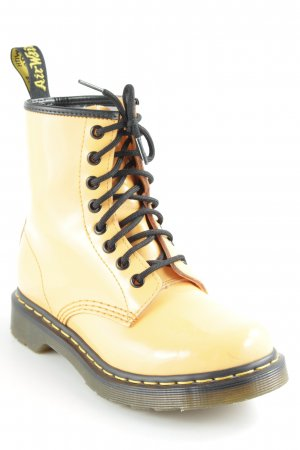 Dr. Martens Lace-up Boots light orange extravagant style