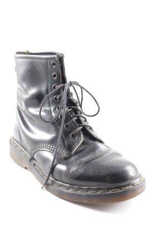 Dr. Martens Lace-up Boots black biker look