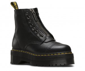 Dr. Martens Low boot noir cuir