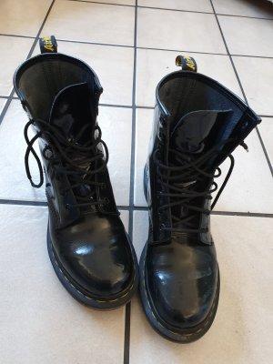 Dr.Martens/ Stiefel/ Lack Stiefel/ schwarze Stiefel