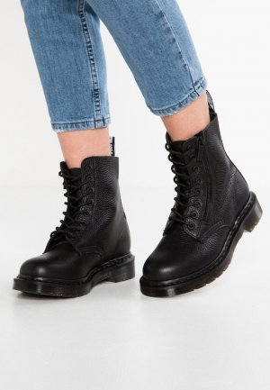 Dr. Martens Lace-up Boots black leather