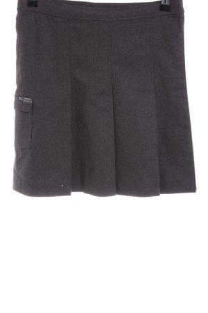 Dr. Martens Wraparound Skirt light grey flecked business style