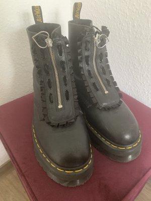 Rangers noir-argenté cuir