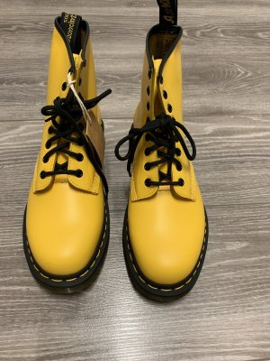 Dr. Martens Booties yellow leather
