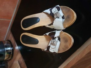 Dr. Scholl Clogs mit Ponyfell