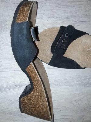 dr. scholl, maise heel, bioprint sandalette, neu gr.38