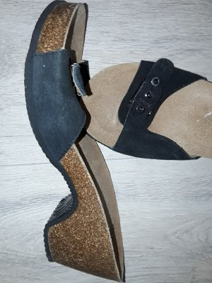 Dr. Scholl High-Heeled Sandals black-light brown