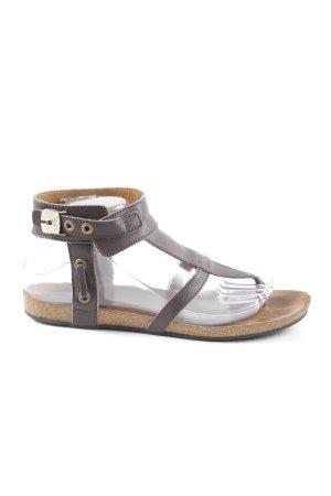super popular f5e35 3646b Dr. Scholl Sandalo toe-post marrone stile casual