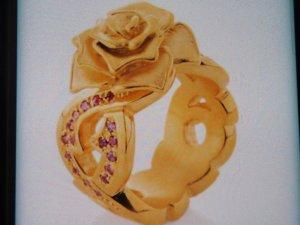 Drachenfels Bandring Rose of Antoine Gr.55/56