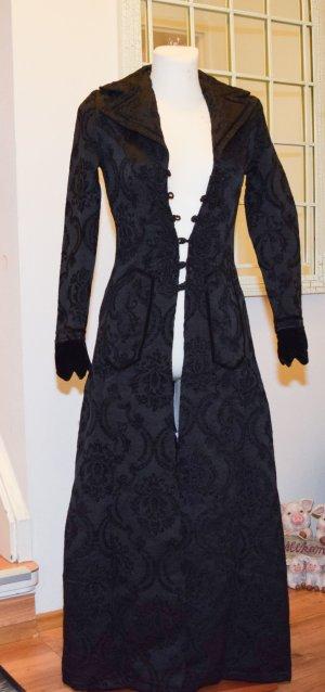 Dracula Clothing, Mantel, gothic, Brokat, mit schnürung Gr.XS