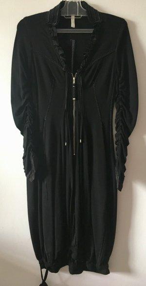 High Use vestido de globo negro Viscosa