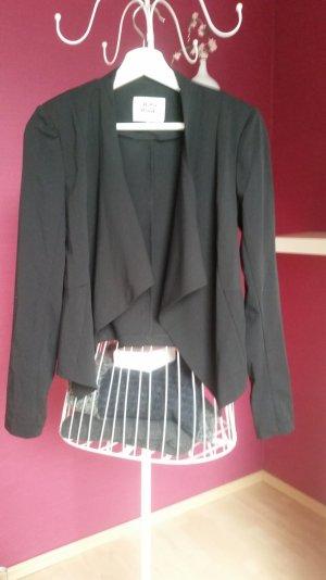 Drapierter Blazer schwarz von Vero Moda, Gr. 36