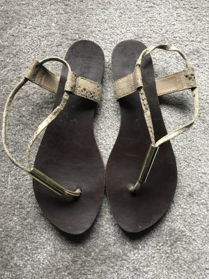 Drash Sandalen USA Gold- Beige Gr.37