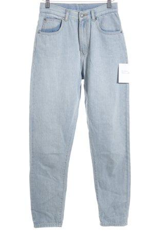 DRDENIM JEANSMAKERS High Waist Jeans blassblau Farbverlauf minimalistischer Stil