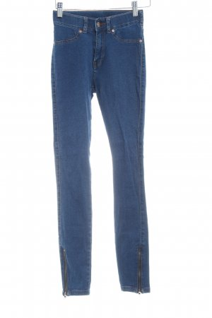 DRDENIM JEANSMAKERS High Waist Jeans stahlblau Casual-Look