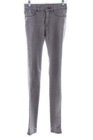 DRDENIM JEANSMAKERS Skinny Jeans hellgrau Business-Look