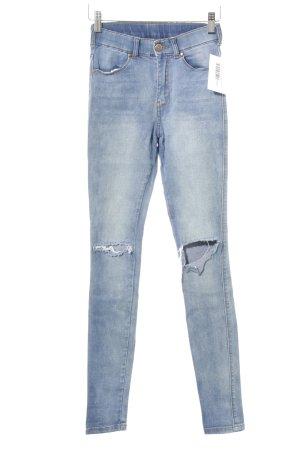 DRDENIM JEANSMAKERS Skinny Jeans kornblumenblau Casual-Look