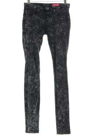 DRDENIM JEANSMAKERS Skinny Jeans schwarz-hellgrau Casual-Look