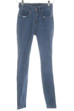 DRDENIM JEANSMAKERS Skinny Jeans stahlblau Casual-Look