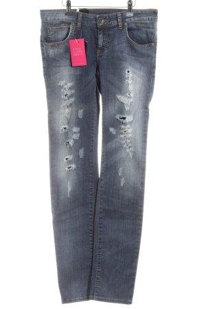 DRDENIM JEANSMAKERS Slim Jeans blau Casual-Look